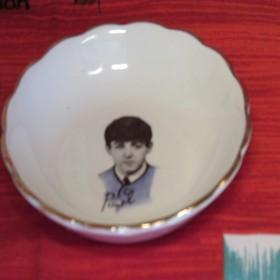 Ceramic Washington Pottery Candy Dishes 1964 Beatles