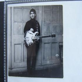 George Harrison Hand-Written Letter to Astrid Kirchherr 1962
